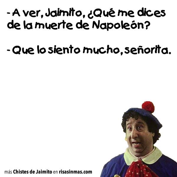 Chistes de Jaimito: Napoleón