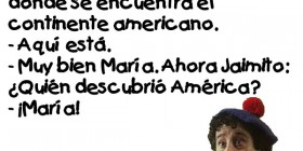 Chistes de Jaimito: ¿Quién descubrió América?