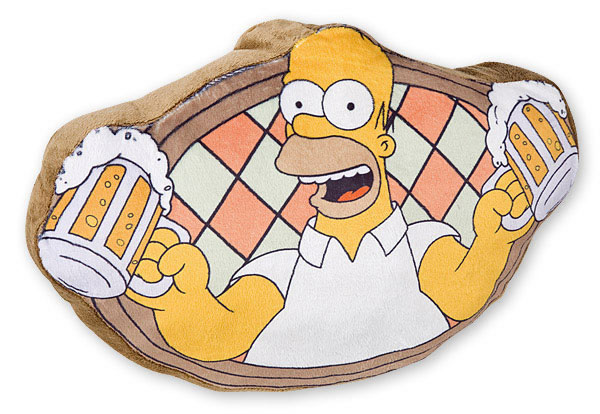 Cojín Homer Simpson