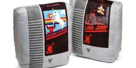 Cojín cartucho retro de videojuego Nintendo