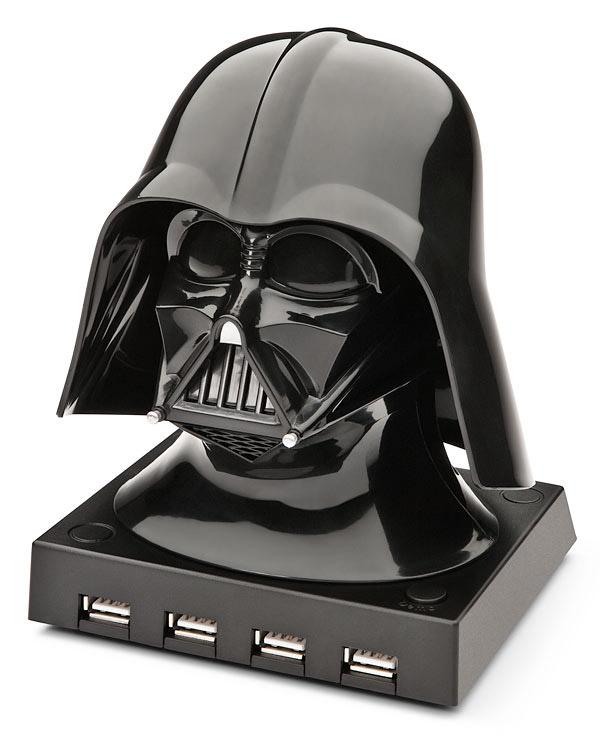 Conector USB 4 puertos Darth Vader