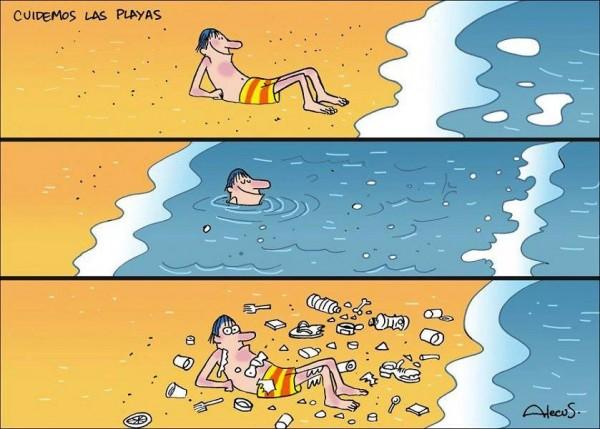 Cuidemos las playas