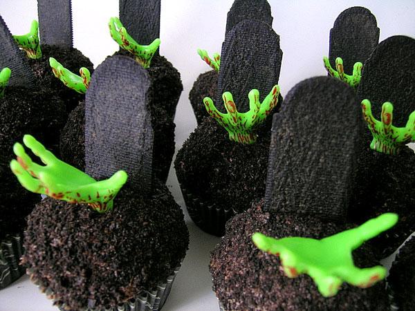 Cupcakes zombie