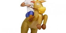 Disfraz de Cowboy Inflable