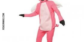 Disfraz de cerdo volador