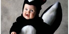 Disfraz de mofeta para bebé