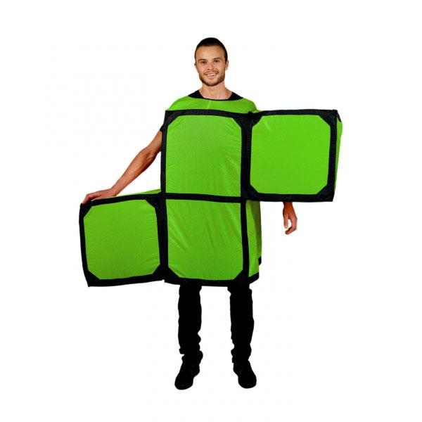 Disfraz de pieza de Tetris