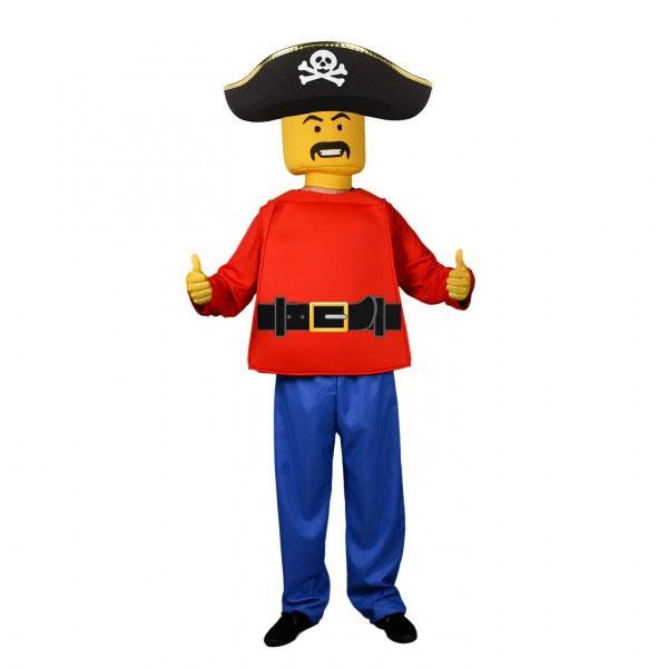 Disfraz pirata de LEGO