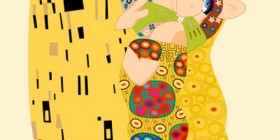 El beso de Klimt versión Muppets