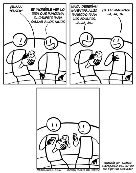 El chupete para los adultos