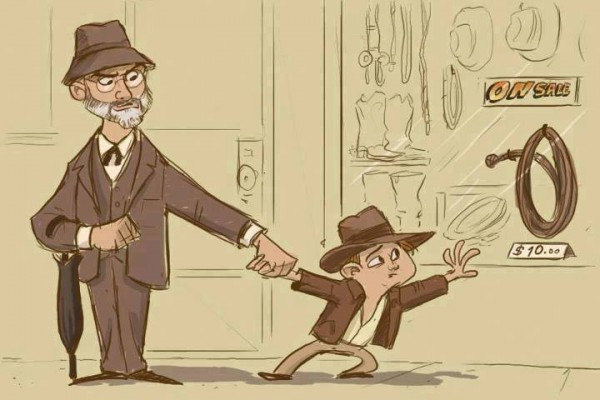 El impulso infantil de Indiana Jones