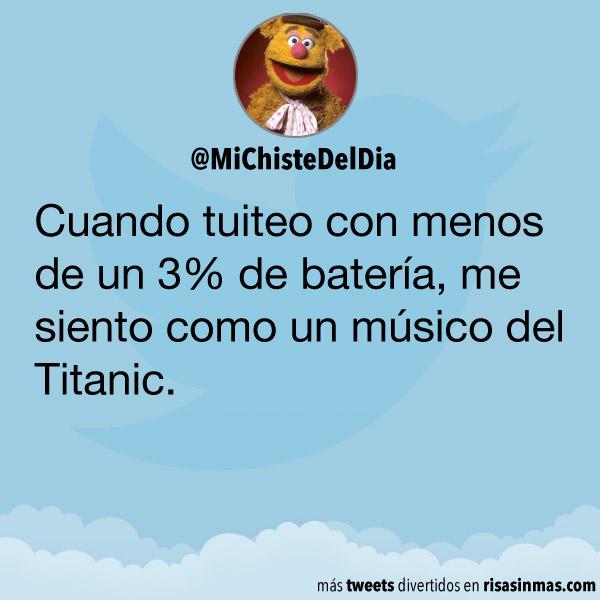 El músico del Titanic