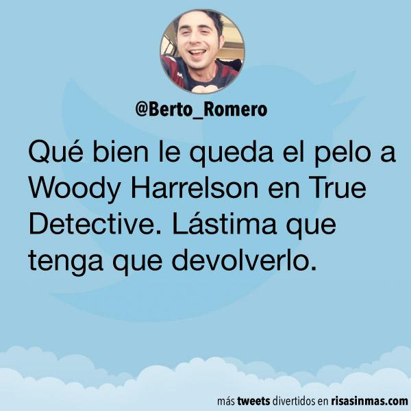 El pelo de Woody Harrelson
