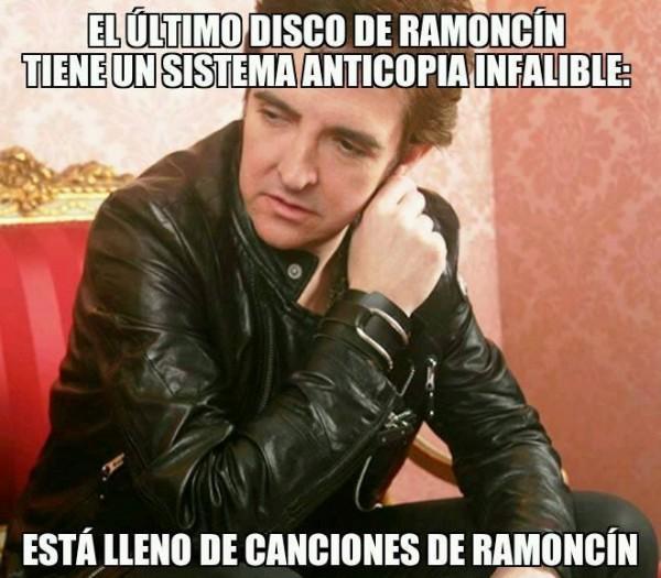 El último disco de Ramoncín