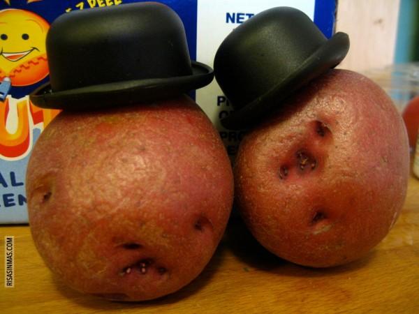 El verdadero Mr. Potato