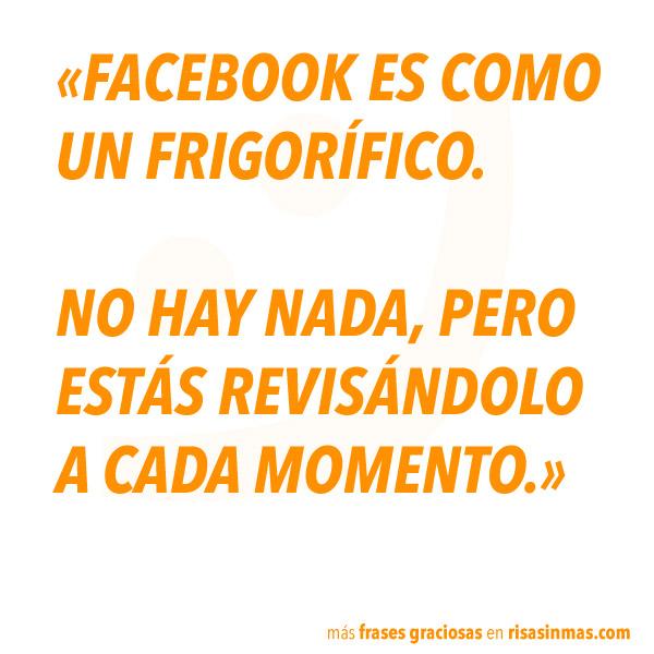 Facebook es como un frigorífico