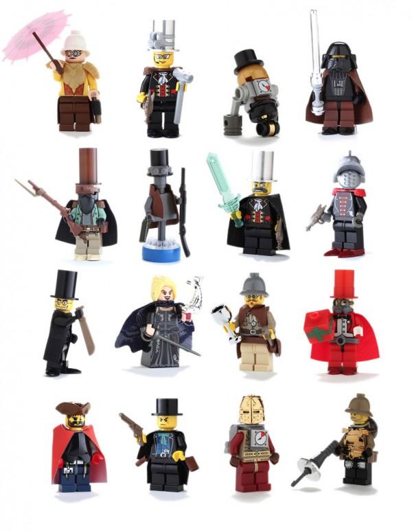 Figuras de LEGO Steampunk