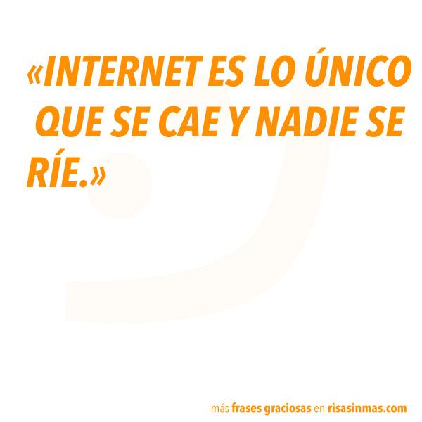 Frases graciosas: Internet