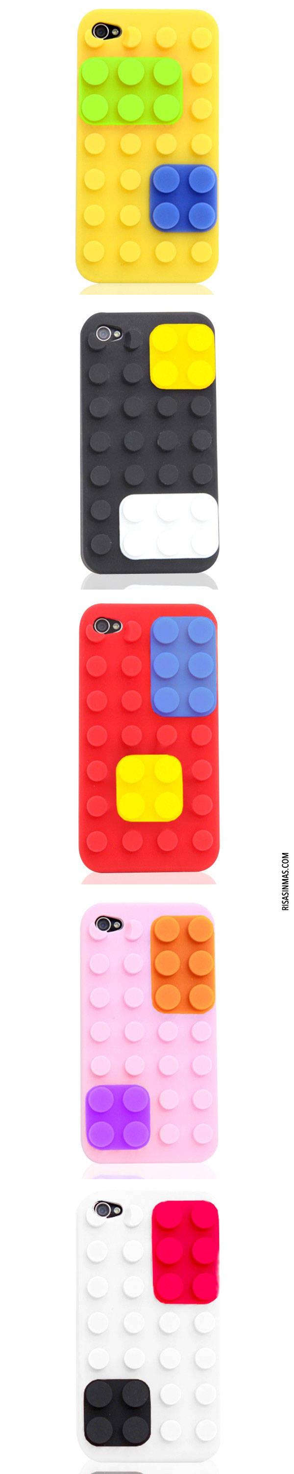 Fundas para iPhone: Bloque de Colores