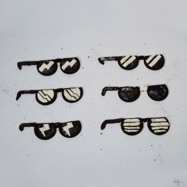 Gafas de sol hechas con Oreo