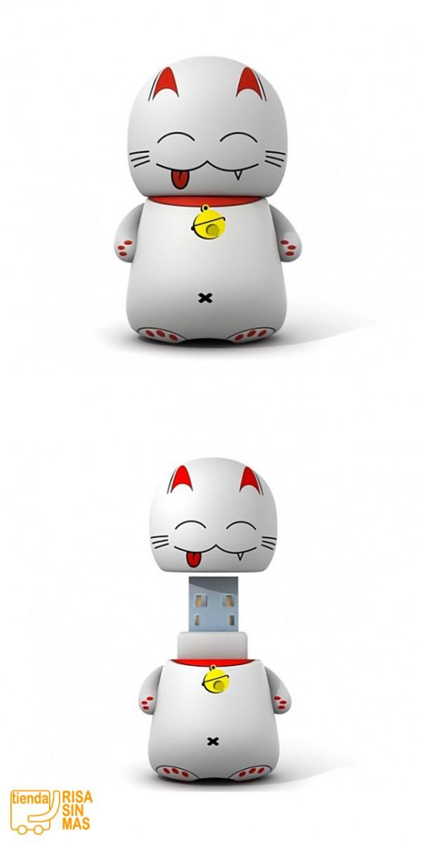Gato de la Suerte USB