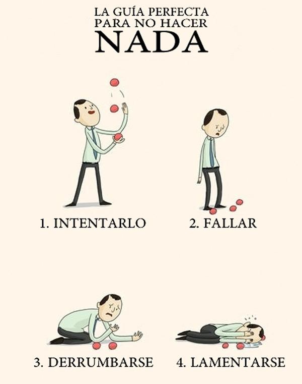 Guía perfecta para no hacer nada
