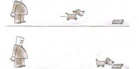 Hasta los perros huyen