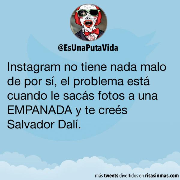 Instagram y las empanadas