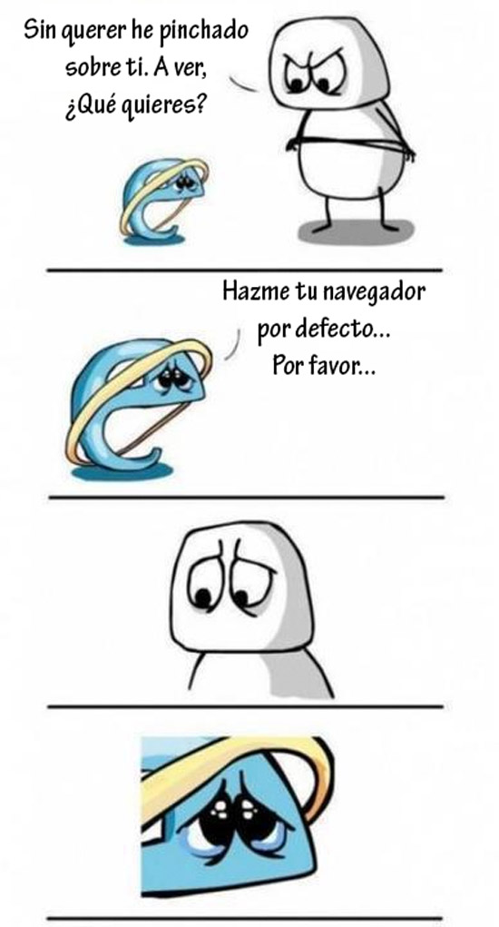 Internet Explorer, navegador por defecto