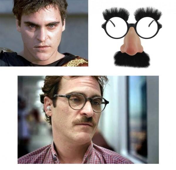 El cambio de look de Joaquin Phoenix