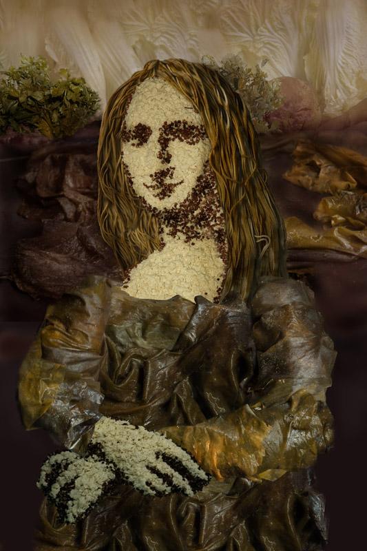 La Mona Lisa vegetal