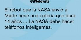 La NASA debe hacer teléfonos inteligentes