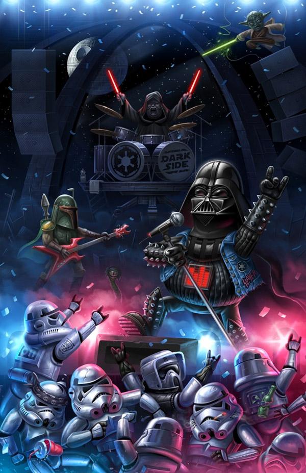 La fiesta del lado oscuro