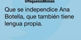 La independencia de Ana Botella