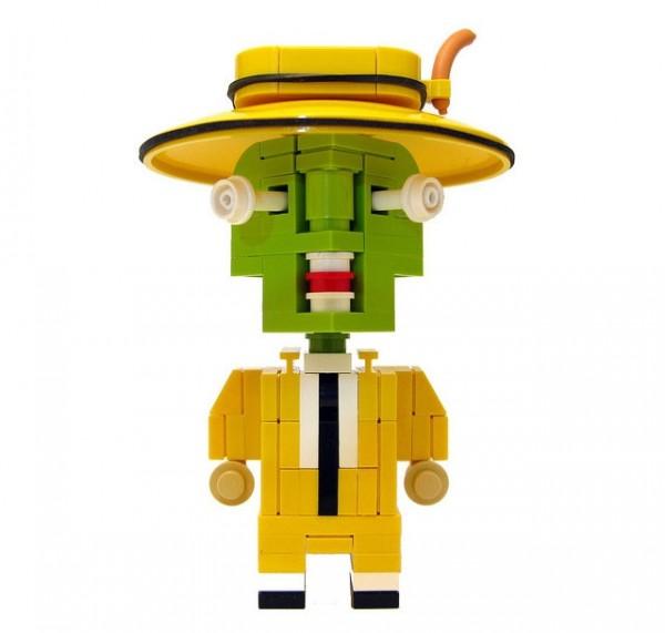 La máscara en LEGO
