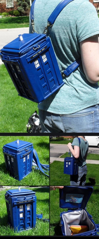 La mochila de Doctor Who