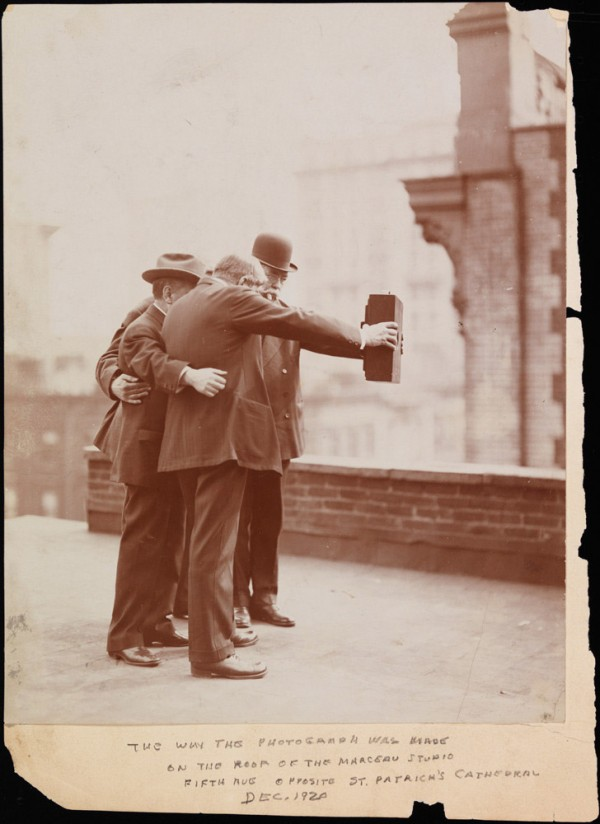 La primera selfie de la historia