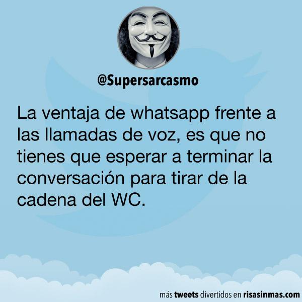 La ventaja de whatsapp