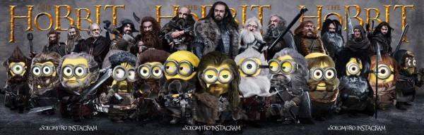 Los Minions versión El Hobbit