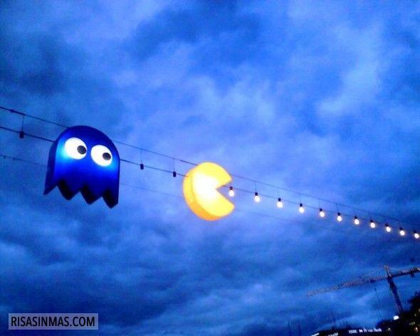 Luces Pac-Man