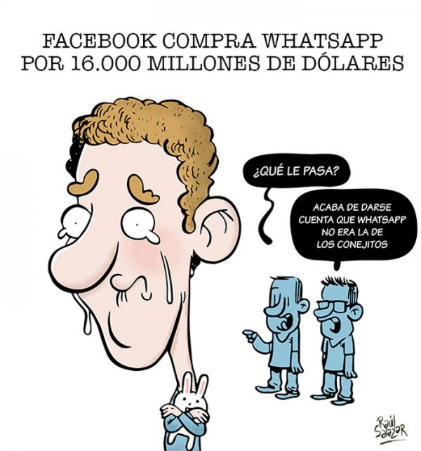 Mark Zuckerberg ya tiene su WhatsApp