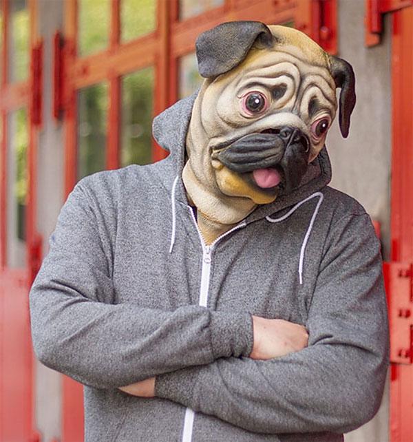 Máscara de Pug