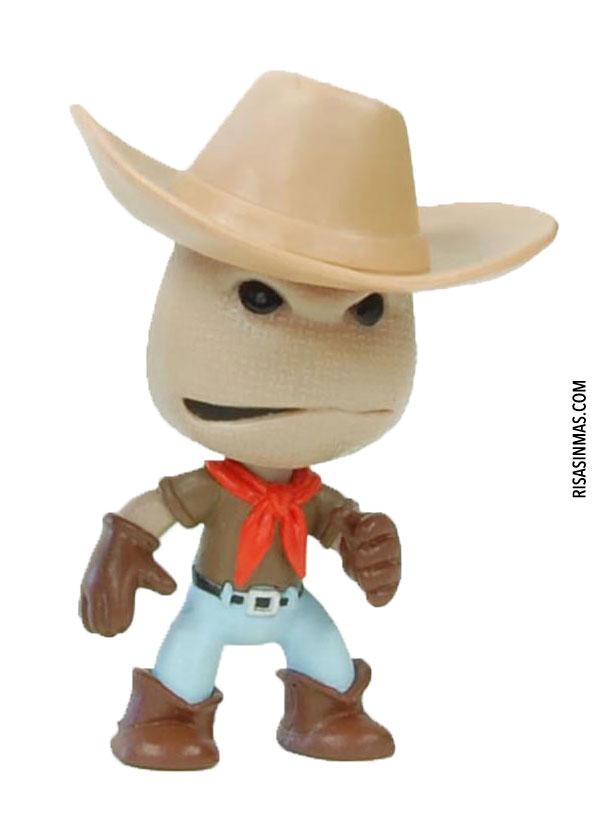 Mini figura Sackboy USA