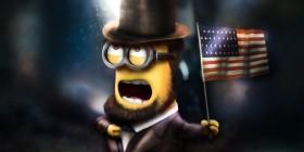 Minion Abraham Lincoln