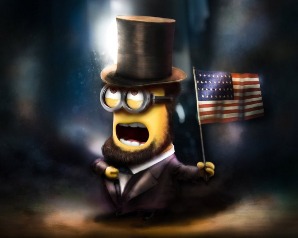 Minion Abraham Lincoln