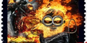 Minion Ghost Rider, El motorista fantasma