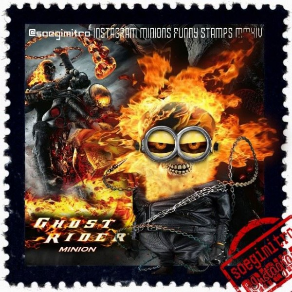 Minion Ghost Rider, El motorista fantasma