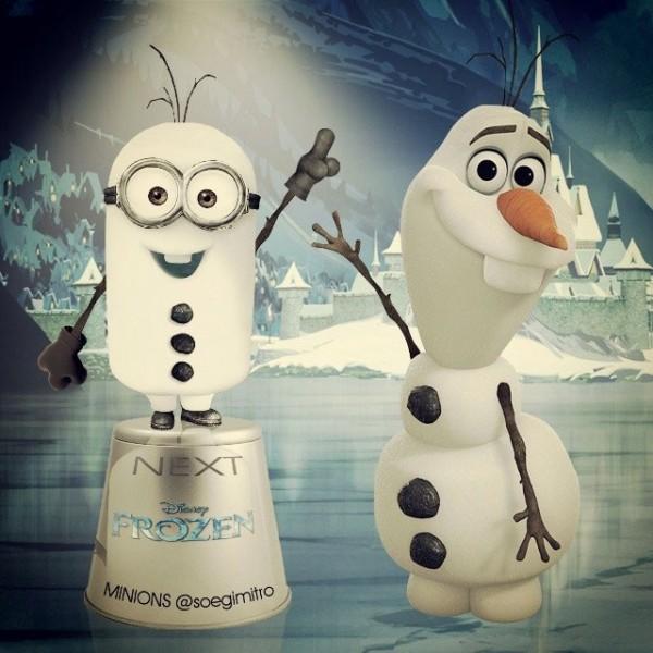 Minion Olaf