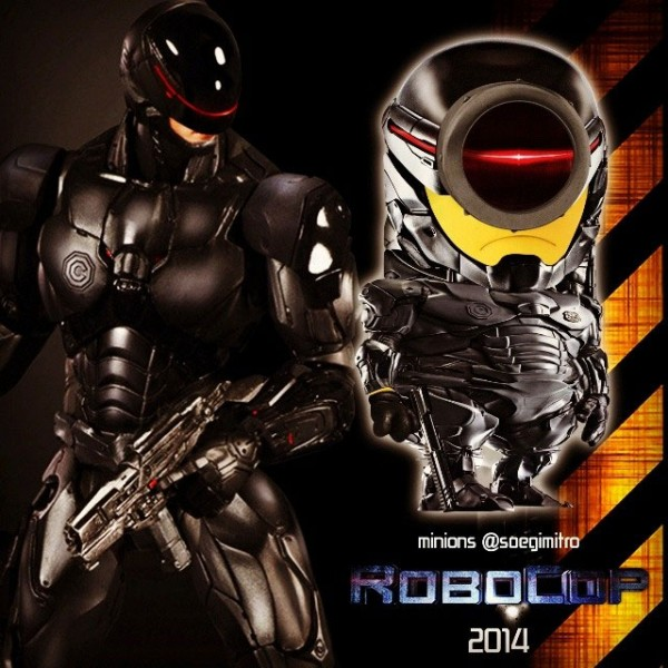 Minion Robocop 2014
