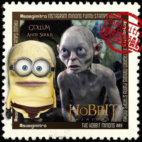 Minions El Hobbit: Gollum
